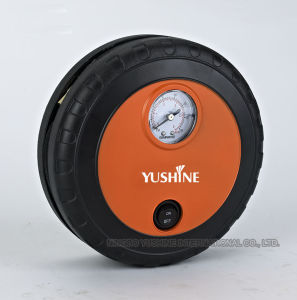 Mini 12V Portable Car Air Pump with Tire Shape pictures & photos