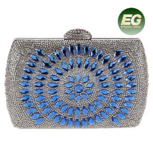 Latest Design Crystal Beaded Evening Bags for Girls Rhinestone Clutch Handbag Purses Eb869 pictures & photos