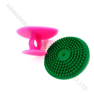 Silicone Hair Comb Soft Brush pictures & photos