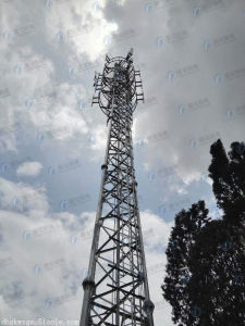 Durable Steel Frame Telecom Lattice Tower for Sale