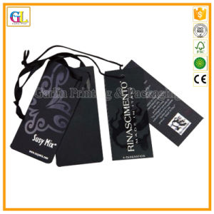 Custom Design Hang Tag Printing for Cloth/Bag pictures & photos
