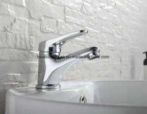 Mini Stylish Elegant Bathroom Brass Vessel Sink Water Tap Mixer Chrome Finish pictures & photos