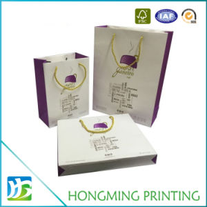 Custom Made Logo Printed Paper Bags with Handle pictures & photos