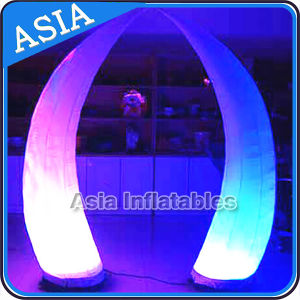 Inflatable LED Lighting Cone / Inflatable Lighting Column / Inflatable Clorful LED Pillar pictures & photos