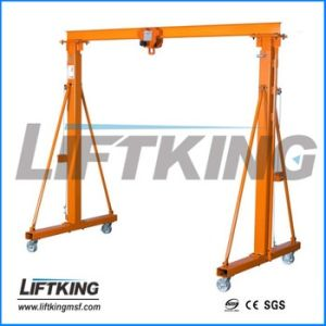 Hand Pushed Gantry Crane, Liftking Crane Manufacturer with ISO Certificate pictures & photos