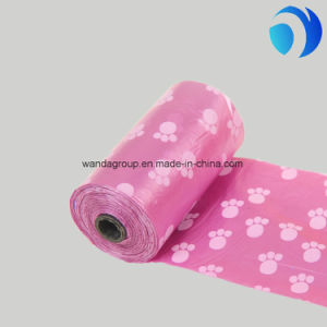 Colourful High Quality Pet Cleaning Product Biodegradable Dog Waste Bag
