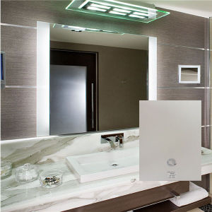 Hotel Electric Lighted Frameless Fogfree LED Backlit Bathroom Mirror