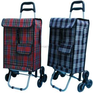 2551d29fc88b Portable Large Folding 2 Wheel Shopping Luggage Bag Smart Cart