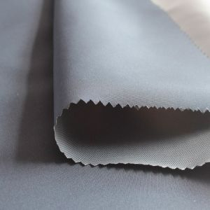 Plain Peach Skin Fabric Coated (SL702-1) pictures & photos
