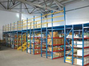 Industrial Warehouse Multi-Tier Storage Metal Mezzanine Rack pictures & photos