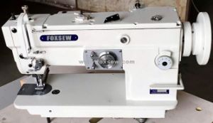 Top and Bottom Feed Zigzag Sewing Machine with Large Hook pictures & photos