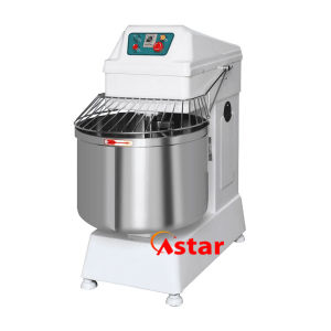 80L 33kg Double Motor Double Speed Spiral Mixer Bread Dough Mixer Food Processor pictures & photos