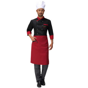 High Quality Kitchen Apron with Printed Logo for Hotel pictures & photos