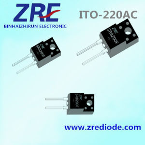 8A Sr840 (F) Thru Sr8200 (F) Schottky Barrier Rectifiers ITO-220AC pictures & photos
