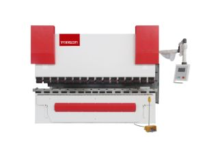 Electro-Hydarulic Synchonously CNC Press Brake with Original CT8 3+1 Axes Controller