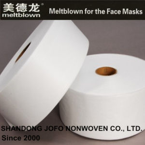 25GSM Bfe98% Meltblown Nonwoven Fabric for Face Masks