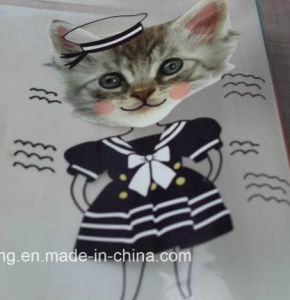 Cute Cartoon Heat Transfer Printing Stickers for Kids Baby′s Clothing pictures & photos