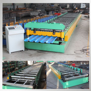 Step Roof Tile Glazed Tile Roll Forming Machinery pictures & photos