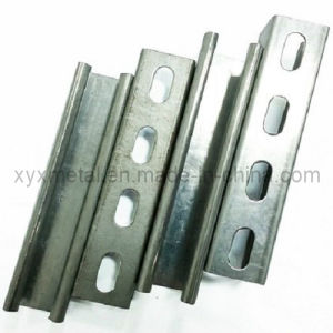 Hot Dipped Galvanized C U Steel Profile Slotted Strut Channel pictures & photos