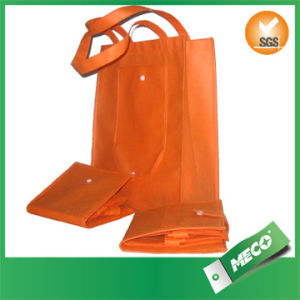 Art Non Woven Fabric Promotional Folding Shopping Bag (MECO355) pictures & photos