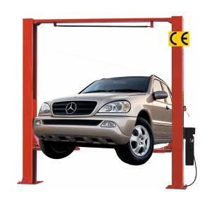 China Two Post Hydraulic Car Lift Gate Type Qdsh L2027 2000kgs 1800mm Kit