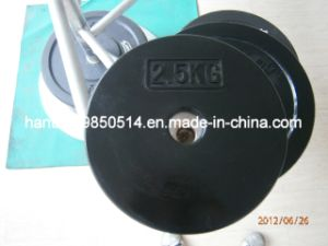 Weight Lifting Rubber Plate