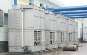 Evaporative Condenser for Refrigeration