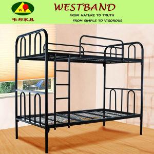 China Black Rod Iron Double Bunk Bed Frames Wb Bd06 China Iron
