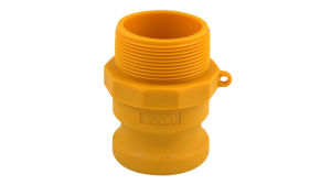 Nylon 1-1//4 Adapter USA SealingsCam and Groove Fitting Type DP