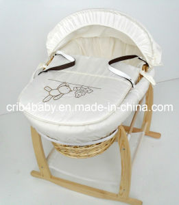 Maize Moses Basket & Rocking Stand
