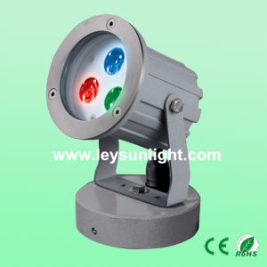 3W RGB 12V Modern LED Outdoor Garden Lighting
