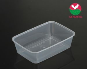 Rectangular Plastic Food Container (SK 700) pictures & photos