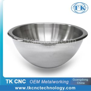 Stainless Steel Double Wall Large Salad Serving Bowl For Hotel Restaurant Use By Stamping Pressing Laser Welding