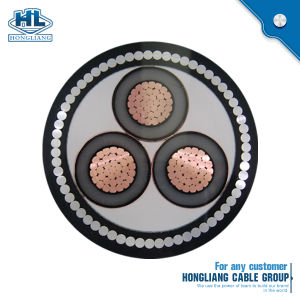 China 10kv 3 Phase Power Cable Copper Conductor XLPE Insulated Steel ...