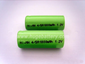 1.2V 1800mAh, 2000mAh 4/5A NiMH Rechargeable Battery pictures & photos