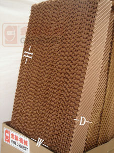 Evaporative Honeycomb Cooling Pad for Poultry House Greenhouse (JCJ11-CP)