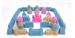 Space 3D Animal Kingdom Martian Sand, 750g Play Sand Plus 9 PCS Sand Mold