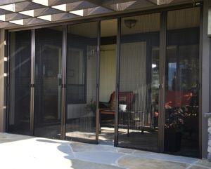 Merveilleux Balcony Plisse Screen Door