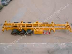 China Brand Ctac Tri-Axles Skeleton Semi Trailer Container Chassis pictures & photos