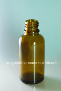 20ml Screw-Neck Mold-Formed Glass Bottle
