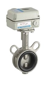 Electric Wafer Wcb Butterfly Valve with Actuator (HL-ZX) pictures & photos