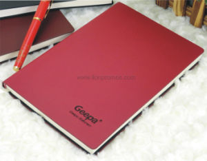 Corporate New Year Gift PU Leather Logo Embossed Note Book pictures & photos