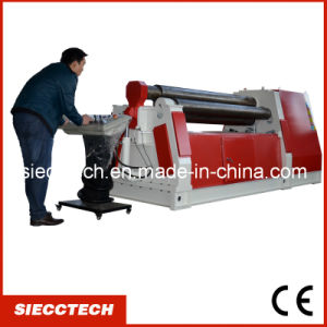 Hydraulic Metal Plate Bending Roll Machine 4 Roll Bendin Gmachine pictures & photos