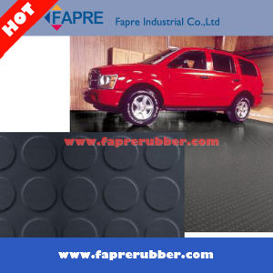 Anti Fatigue Round DOT Rubber Mat for Workshop and Car