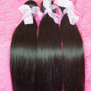 100% Real Human Hair Extensions Virgin Brazilian Hair pictures & photos