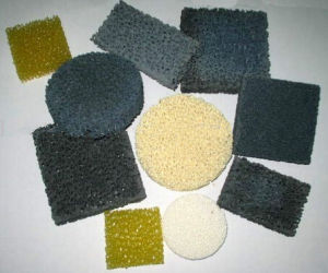 Manufacturer High Quality Sic/Alumina/Zirconia Foam Ceramic Filter for Foundry pictures & photos