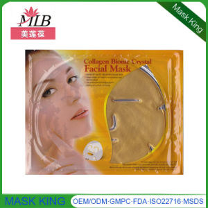 Private Label Cosmetics Natural Skin Care Gold Anti Aging Neck Mask