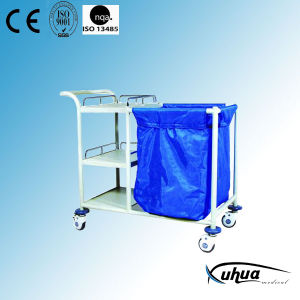 Hospital Medical Laundry Collecting Nursing Cart (N-18) pictures & photos