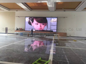Die Casting Aluminum Full Color Indoor LED Display Screen P4 SMD Super Thin LED HD Video Wall Board