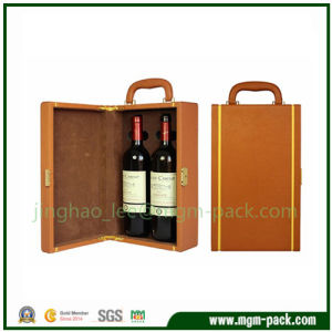 Handmade New Type Portable Wooden Wine Box pictures & photos